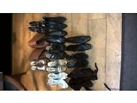 selection of shoes size 6