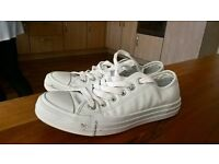 Converse Trainers White Size 5