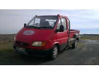 ford transit flairside n plate