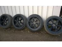 "MITSUBISHI L200 22"" WOLFRACE ALLOYS & NEARLY NEW 295/45/22 GENERAL GRABBER TYRES"