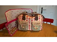 Pink Lining 'yummy mummy' changing bag