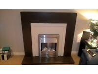 For sale fire surround and fire