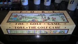 Retro Board Game 'Fore. The Golf Game' - £6 ono