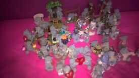 tatty teddy ornaments 33 includes large double ones excellent condition only kept in display cabinet