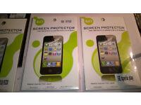 job lot of mobile phone screen protectors
