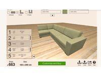 Nabru Corner Sofa (6 person)