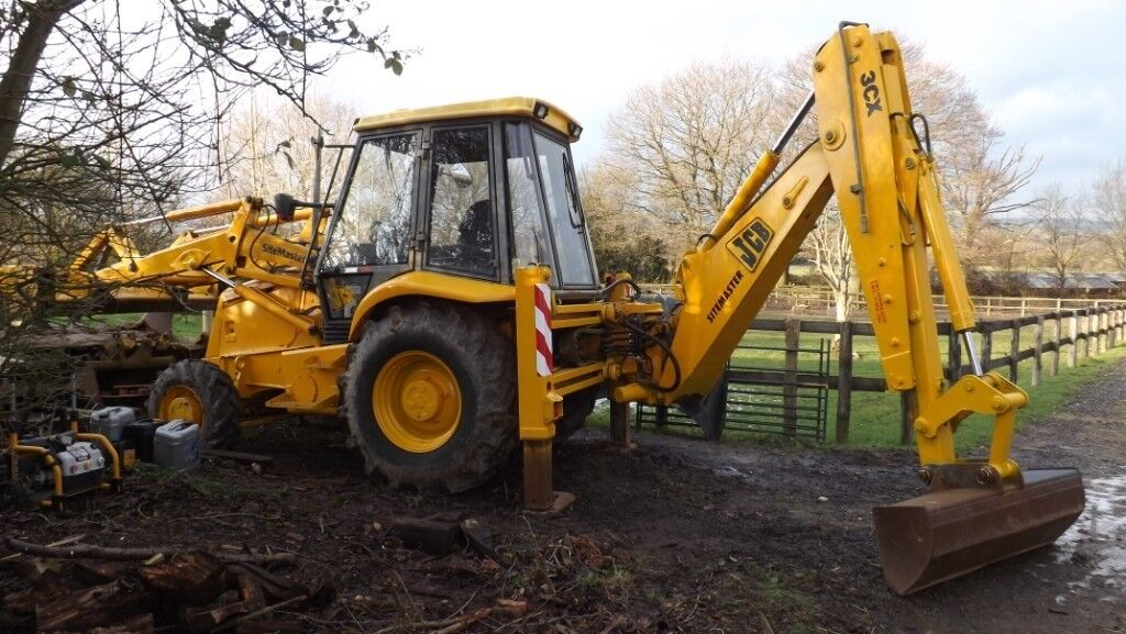 JCB 3CX Sitemaster 4WD digger, Backhoe Loader, Excavator JCB PROJECT 8 3CX  No vat    in Tonbridge, Kent   Gumtree