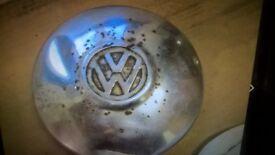wanted old vw beetle hub cap.