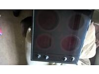 built-in oven,grill with top hob in excellent condition