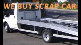 BUY SCRAP CAR OR VAN FOR CASH AND COLLECTION
