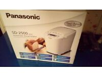 PANASONIC AUTOMATIC BREAD MAKER SD2500 BRAND NEW