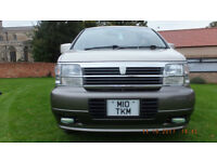 NISSAN ELGRAND 3.0 TD Auto with O/D, AWD, 7 seats, 98000 miles, A/C, electric curtains, full MOT