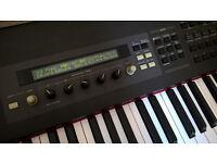 Yamaha S80 Keyboard - 88-key piano-weighted synthesiser gig piano