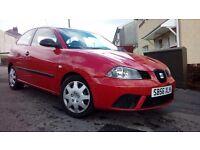2007 (56) Seat Ibiza Reference 1.2cc