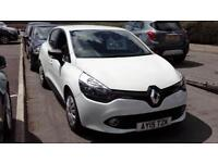RENAULT CLIO DIESEL HATCHBACK 1.5 dCi 90 ECO Expression+ Energy (white) 2015