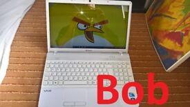 laptop Sony Vaio Ice White i3 processor