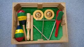 Melissa & Doug musical instruments plus other instruments