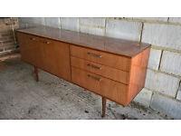 Lovely retro vintage wooden sideboard / cabinet / storage