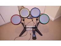 Xbox 360 Rock Band Drum Kit (Missing Drumsticks)
