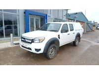 FORD RANGER XL DOUBLE CAB TDCI 4X4 PICK UP 2010
