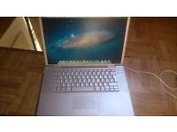 Macbook Pro 15 2.33ghz core 2 duo with ADOBE CS6 / Final Cut / Logic Pro / Ableton / MS Office