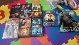 Doctor who books and 1 dvd (can sell separately)