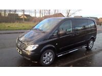 NO VAT 2010 MERCEDES VITO 115 SPORT DUALINER 150BHP 6 SPEED 5 seats