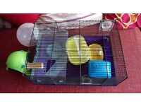 Used clean Hamster cage