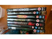 7 dvds all £5