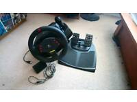 Logitech MOMO Racing Wheel & Pedals for PC