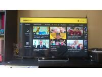 "Sony Bravia 50"" Android Smart 3D 50 Inch LED Full HD 1080p Wi-Fi Internet & Freeview TV With Remote"