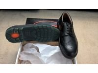 Steel toe cap Mens Brogue shoes Size 8/42