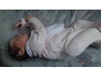 NEW, Reborn baby girl 19 inches a Marissa May sculpt