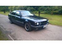 BMW E34 530i V8 with rare Manual Gearbox sport ratio diff M60 Engine Classic Car