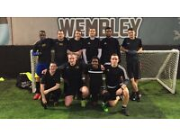 7-a-side / 5-a-side Football / At Brunel University / Usually Beer or Nandos after