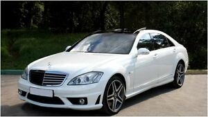 2008 Mercedes-Benz S-Class S63 -- AMG -- WHITE ON BEIGE -- 507 H