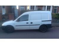 vauxhall combo 1.7 cdti * 84,000 miles!!!!! * runs and drives lovely, reliable van, no advisories
