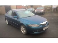 BARGAIN 2006 MAZDA 6 TS LONG MOT DRIVES VERY GOOD £675 PX WELCOME