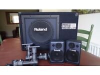 Roland Personal Monitor Speaker System for Electronic Drums, Pads & Keyboards