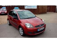 FORD FIESTA 1.4 & LONG MOT AND FULL SERVICE HISTORY + 6 MONTH WARRANTY