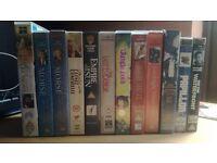 12 VHS Films