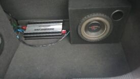 """10"""" T-rex subwoofer, 1000Wrms, 3000W peak by DBaudio. small size, large power. £80ono"""
