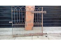 Victorian gate needs refurbished.very heavyj