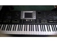 The Roland G-70 Music Workstation