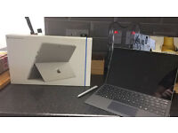 Microsoft Surface Pro 4 (with keyboard, charger, stylus and original box)