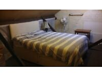 loft room double bed for 1 person