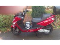 SYM JOYRIDE 200 cc 2010 reg