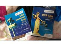 Jacqueline Martin Law textbooks OCR