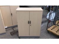 FREE TO COLLECTOR - Various Wood Effect Office Cupboards - Many Available