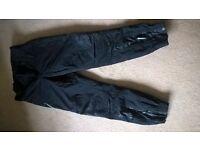Ladies Fieldsheer Waterproof Motorcycle Trousers size Medium